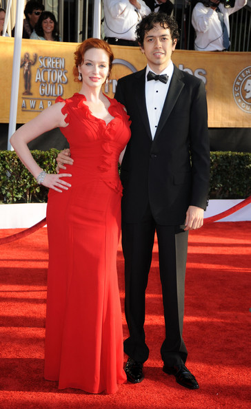 christina hendricks boyfriend. And she wore a lovely red