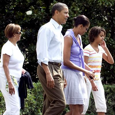What the First Family do on the weekend? President Barack Obama, Michelle,