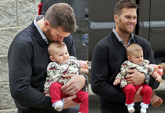 Tom Brady Family Photos Family Day For Tom Brady