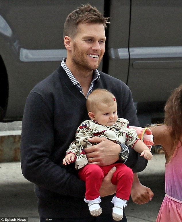 Tom Brady and his adorable daughter, Vivian