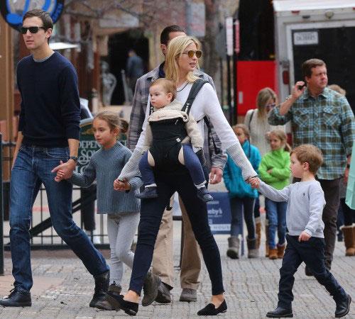 Ivanka Trump and Her Children