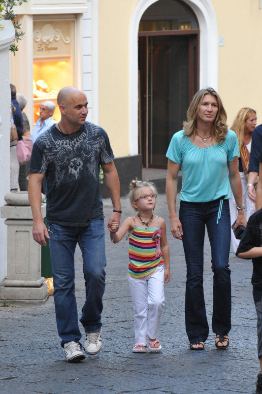 Celebrity Parenting Blog Archive Andre Agassi A Good Father Figure