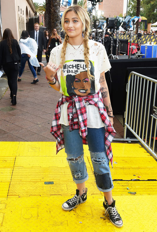 Paris_Jackson_At_MTV_Awards